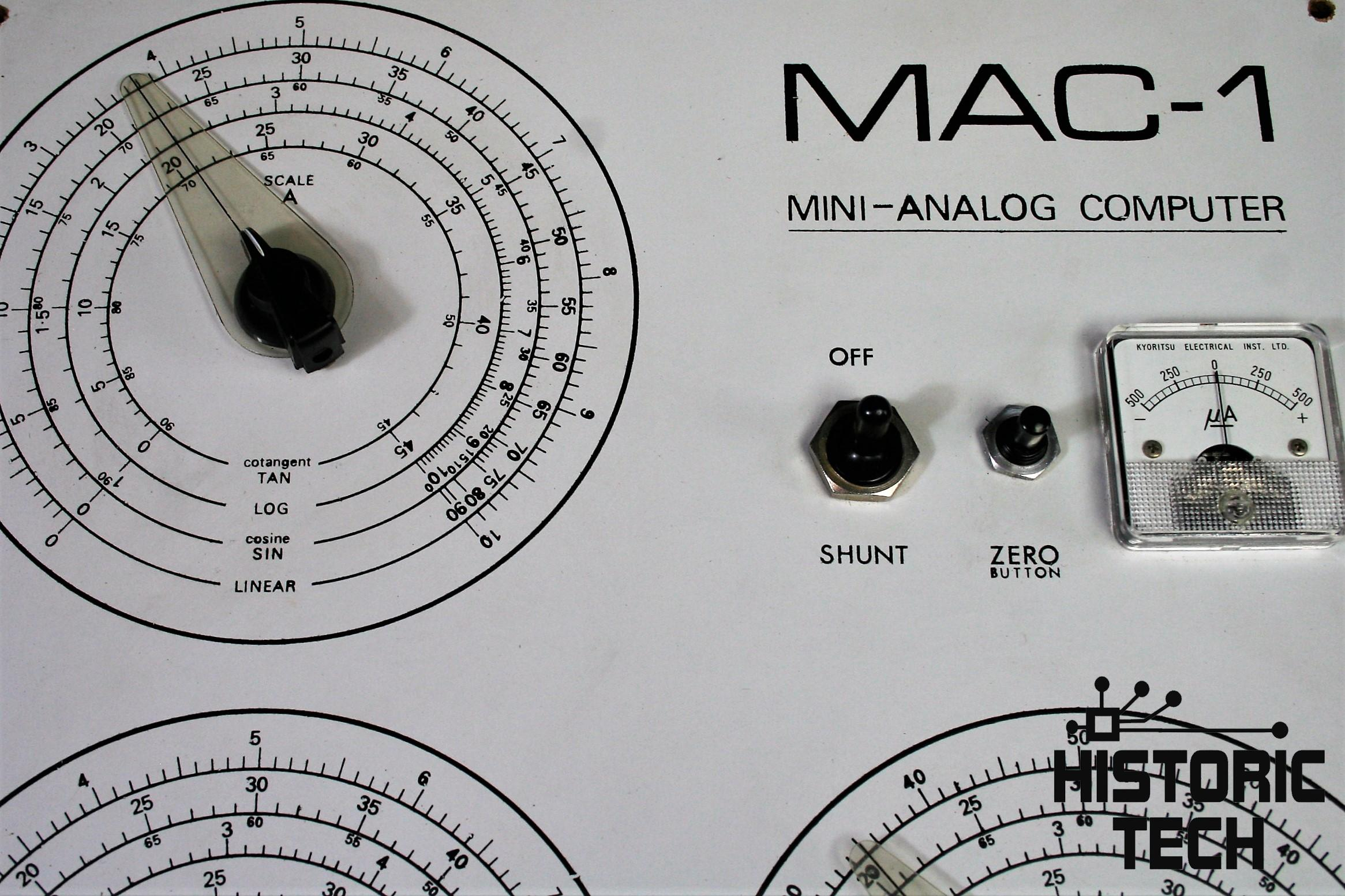 Boxed 1960s 'MAC 1' Analogue Computer Trainer - historictech